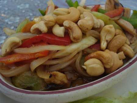 Lunch special - Cashew nuts with chicken