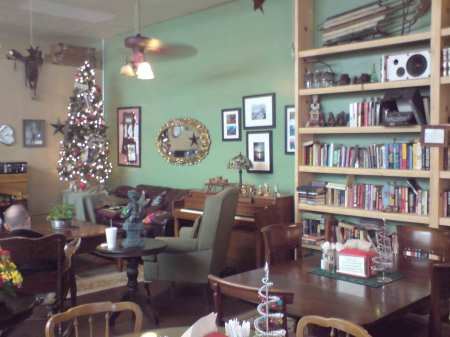 xmas trees, pianos, rocking chairs, and books to read!